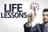 The text Life Lessons — Stock Photo