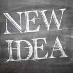 New Idea written on board — Stock Photo #59669877