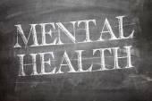 Mental Health written on board — Stock Photo