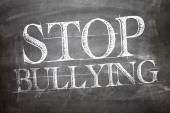 Stop Bullying written on board — Stock Photo