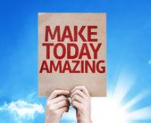 Make Today Amazing card — Stock Photo