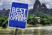 Best Travel Offers sign — Stock Photo