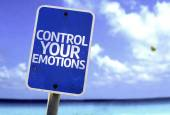 Control Your Emotions sign — Stock Photo