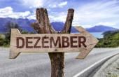 December (In German) sign — Stock Photo