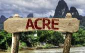 Acre (Brazilian State) sign — Stock Photo