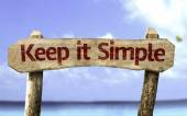 Keep It Simple sign — Stock Photo