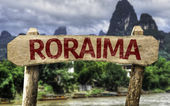 Roraima (Brazilian State) sign — Stock Photo
