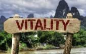 Vitality sign — Stockfoto