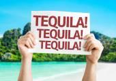 Tequila! Tequila! Tequila! card — Foto de Stock