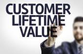 Text: Customer Lifetime Value — Stock Photo
