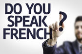 Text: Do You Speak French? — Stock Photo