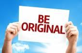 Be Original card — Stock Photo