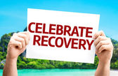 Celebrate Recovery card — Fotografia Stock
