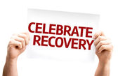 Celebrate Recovery card — ストック写真
