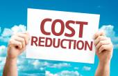 Cost Reduction card — Stock Photo