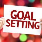 Goal Setting card — Stock Photo #63140325