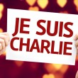 I am Charlie (In French) card — Stock Photo #63141317