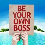 Постер, плакат: Be Your Own Boss card