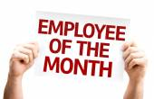 Employee of the Month card — 图库照片