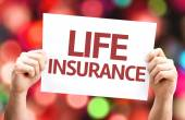 Life Insurance card — Stock Photo