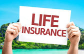 Life Insurance card — Stock Photo
