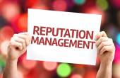 Reputation Management card — Stock Photo