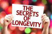 The Secrets of Longevity card — Stock Photo