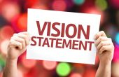 Vision Statement card — Stock Photo