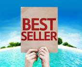 Best Seller card — Stock Photo