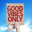 Good Vibes Only card — Stock Photo #63151509