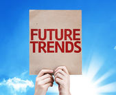Future Trends card — Stock Photo
