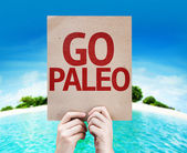 Go Paleo card — Stockfoto