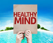 Healthy Mind card — Stock Photo