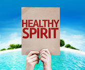 Healthy Spirit card — Stock Photo