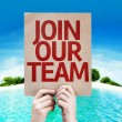 Join Our Team card — Stock Photo #63170049