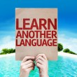Learn Another Language card — Stock Photo #63170127