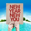New Year New You card — Stock Photo #63171009