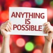 Anything is Possible card — Stock Photo #63174539
