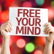 Free Your Mind card — Stock Photo #63175905