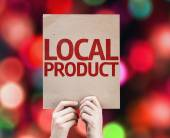 Local Product card — Stockfoto