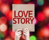 Love Story card — Foto Stock
