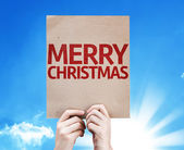 Merry Christmas card — Stock Photo