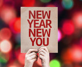 New Year New You card — Stock fotografie