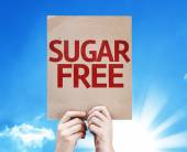 Sugar Free card — Stock Photo