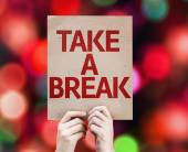 Take a Break card — Stok fotoğraf