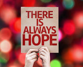 There Is Always Hope card — Stock Photo
