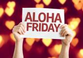 Aloha Friday card — Photo