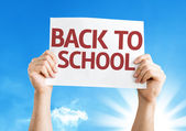Back to School card — Stock Photo