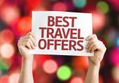 Best Travel Offers card — Stockfoto