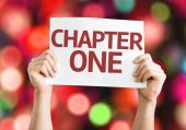 Chapter One card — Stock Photo